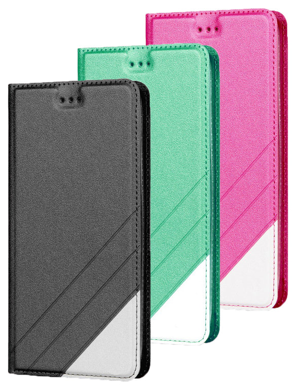 Infolio Wallet Case Credit Card Slot Cover + Wrist Strap for Samsung Galaxy A50
