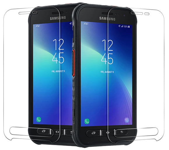 2x Tempered Glass Screen Protector Crack Saver Guard for Galaxy XCover FieldPro