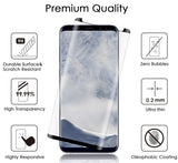 FULL SIZE HARD TEMPERED GLASS SCREEN PROTECTOR SAVER FOR SAMSUNG GALAXY S9 PLUS