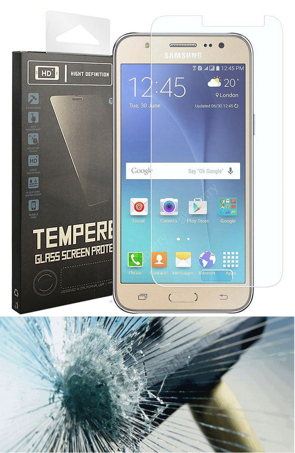 HARD TEMPERED GLASS SCREEN PROTECTOR CRACK SAVER FOR SAMSUNG GALAXY AMP PRIME