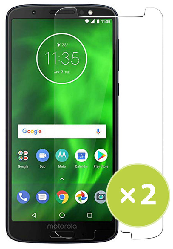 2X Tempered Glass 9H Hard Screen Protector Guard for Motorola Moto G6 XT1925