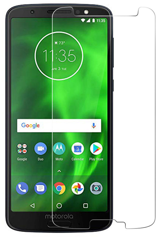 Hard Tempered Glass Screen Protector Scratch Guard for Motorola Moto G6 XT1925