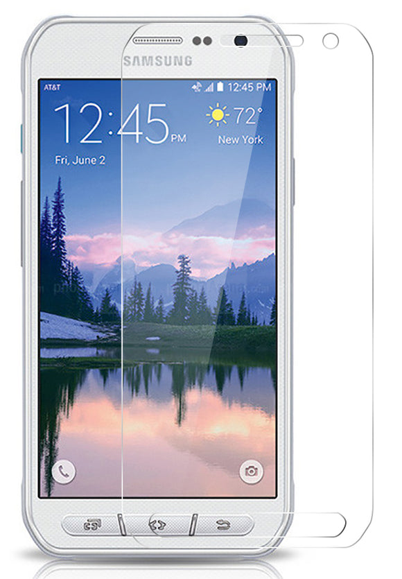 Hard Tempered Glass Screen Protector Scratch Guard for Samsung Galaxy S6 Active