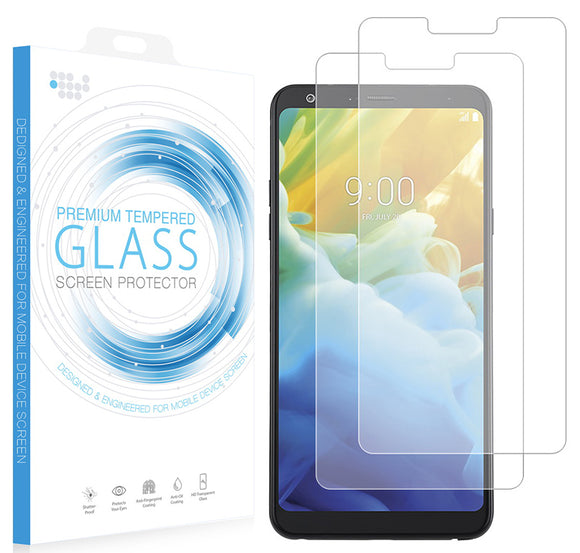 2x Tempered Glass Screen Protector 9H Hard Crack Saver Guard for LG Stylo 5