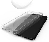 AQUAFLEX TPU ANTI-SHOCK BUMPER CASE COVER CLEAR HARD BACK FOR SAMSUNG GALAXY S8