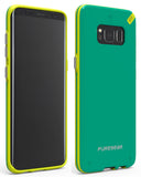 PureGear Citrus Mint Slim Shell Case Hard Cover for Samsung Galaxy S8 Plus, S8+