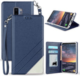 INFOLIO WALLET CREDIT CARD SLOT CASE + LANYARD FOR SAMSUNG GALAXY S9 Plus, S9+