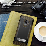TRI-SHIELD RUGGED CASE COVER STAND LANYARD STRAP FOR SAMSUNG GALAXY S9 PLUS, S9+