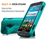 Kickstand Case Slim Cover + Belt Clip Holster for Kyocera DuraForce Pro 2 E6910