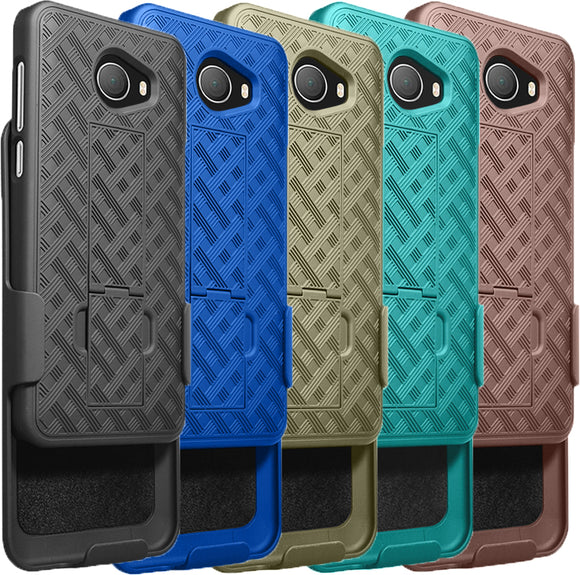 Kickstand Case Slim Cover + Belt Clip Holster for GreatCall Jitterbug Smart2