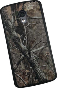 Camo Leaf Tree Woods Kickstand Case Hard Cover for Motorola Droid Maxx 2 XT1565