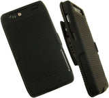 BLACK HARD CASE BELT CLIP HOLSTER STAND FOR MOTOROLA DROID RAZR MAXX XT913 XT912