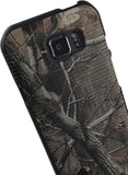 Camo Leaf Tree Real Woods Case Hard Cover for Samsung Galaxy S6 Active SM-G890A