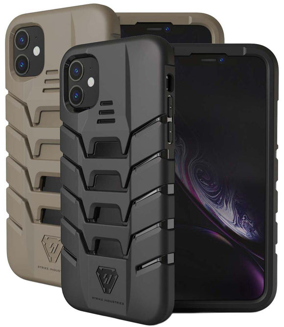 Strike Industries Tactical Rugged Case Flexible Matte Cover for Apple iPhone 11