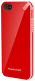 PUREGEAR RED PINK SLIM-SHELL HARD CASE FOR iPHONE 5 5s - STRAWBERRY RHUBARB