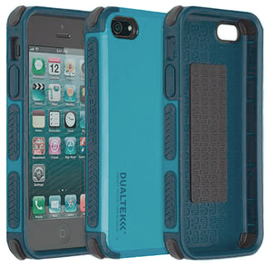 PUREGEAR CARIBBEAN BLUE DUALTEK EXTREME RUGGED CASE FOR iPHONE 5 5s 5c SE (2016)