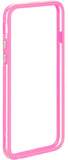 "NEW HOT PINK CLEAR TPU BUMPER FRAME CASE SLIM COVER FOR APPLE iPHONE 6 (4.7"")"