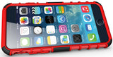 RED GRENADE GRIP RUGGED TPU SKIN HARD CASE COVER STAND FOR APPLE iPHONE 6 4.7""