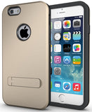 GOLD SLIM TOUGH SHIELD MATTE ARMOR HYBRID CASE COVER SKIN FOR iPHONE 6 4.7""