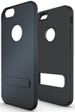 "SLATE NAVY SLIM TOUGH SHIELD MATTE ARMOR HYBRID CASE COVER FOR iPHONE 6 (4.7"")"