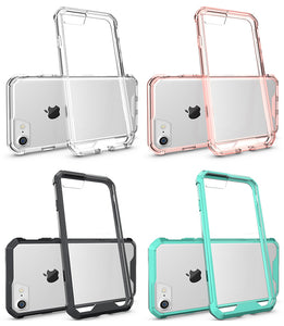 CLEAR TRANSPARENT AIR HYBRID ANTI-SHOCK TPU CASE HARD COVER FOR APPLE iPHONE 7/8