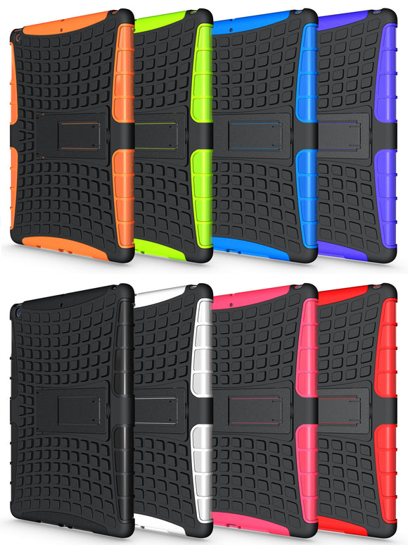 GRENADE GRIP RUGGED TPU SKIN HARD CASE COVER STAND FOR APPLE iPAD 9.7 2017/2018