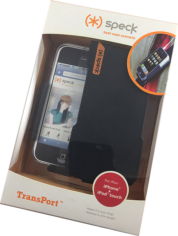 SPECK TRANSPORT STRAP CASE FOR BELT/BAG - MADE FOR iPHONE 1ST GEN, iPOD TOUCH