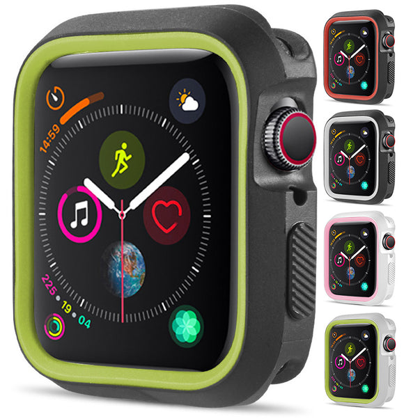New TPU Case Flexible Rubber Trim Cover for Apple Watch (Series 4, 40mm)
