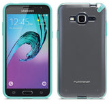 PUREGEAR SLIMSHELL CASE + TEMPERED GLASS FOR SAMSUNG GALAXY AMP PRIME, SKY