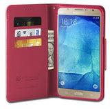 INFOLIO WALLET CREDIT CARD SLOT CASH CASE COVER STAND FOR SAMSUNG GALAXY J7 J700