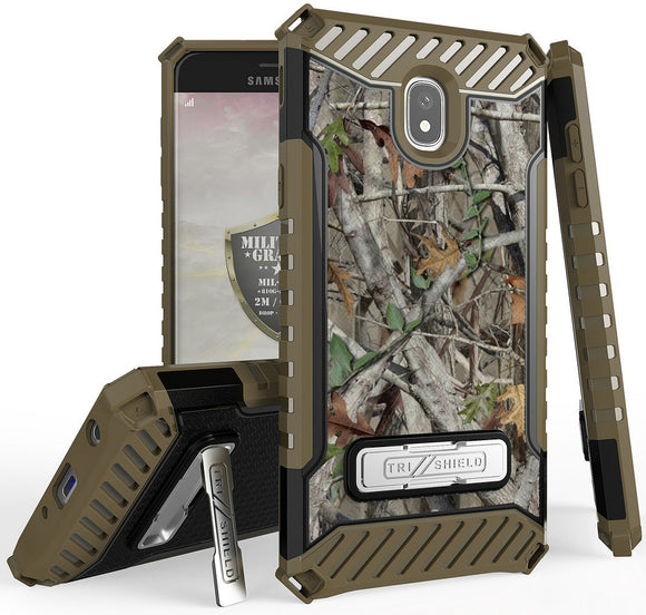 Autumn Camo Tree Woods Case Cover for Samsung Galaxy J7 Star/Refine/Aero 2018