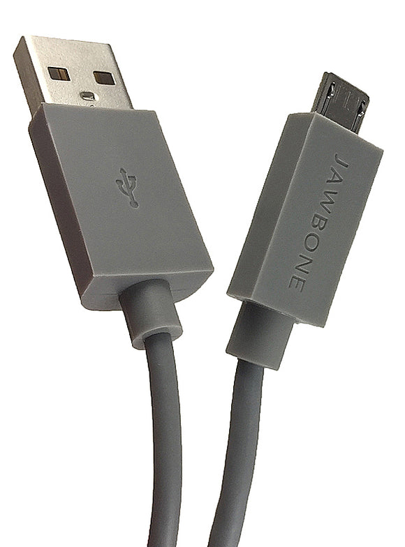 Jawbone Jambox Micro USB Cable, 5-Feet Long Gray, Universal for Android devices
