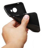 Black Flex Gel TPU Skin Case Cover for for GreatCall Jitterbug Smart2