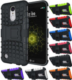GRENADE GRIP RUGGED SKIN HARD CASE COVER STAND FOR LG K20 V, K20 PLUS, HARMONY