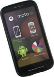 MATTE BLACK FLEXIBLE TPU SKIN CASE CASE COVER FOR MOTOROLA MOTO E 1st GEN