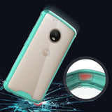 NEW CLEAR HYBRID ANTI-SHOCK TPU CASE HARD COVER FOR MOTOROLA MOTO G5 PLUS