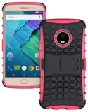 GRENADE GRIP RUGGED TPU SKIN HARD CASE COVER STAND FOR MOTOROLA MOTO G5 PLUS