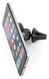 UNIVERSAL CAR AC VENT MAGNETIC HOLDER FOR CELL PHONE (2 MAGNET ADAPTERS)