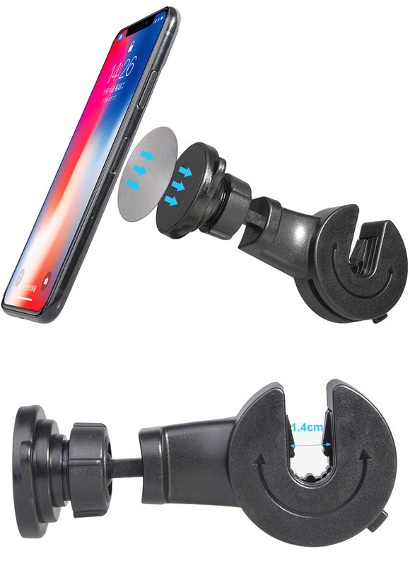 UNIVERSAL MAGNET CAR SEAT HEADSERT MOUNT MAGNETIC HOLDER FOR CELL PHONE, iPHONE