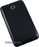 BLACK SMOKE AQUAFLEX TPU SKIN CASE COVER FOR SAMSUNG GALAXY NOTE 1st GEN