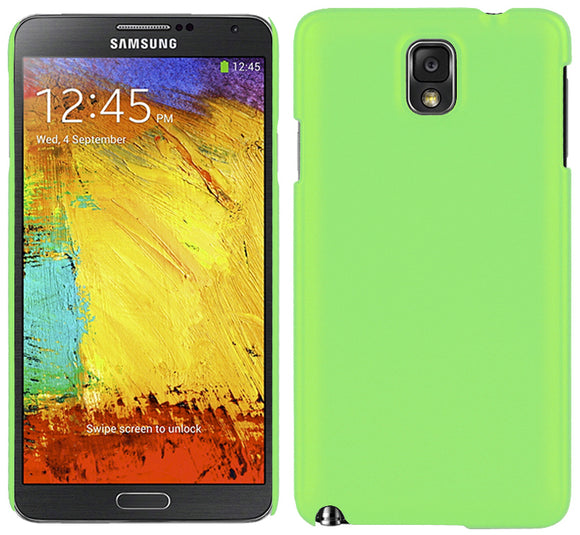 LIME GREEN ULTRA-SLIM PROTEX HARD CASE REAR BACK COVER FOR SAMSUNG GALAXY NOTE 3