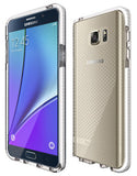 Tech21 CLEAR/WHITE EVO CHECK ANTI-SHOCK CASE TPU COVER FOR SAMSUNG GALAXY NOTE 5