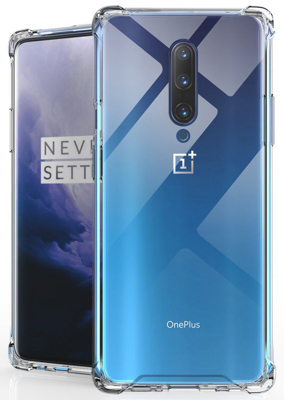 AquaFlex Transparent TPU Anti-Shock Clear Case Slim Cover for OnePlus 7 Pro
