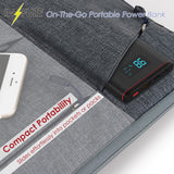 12000 MAH Quick Charge Portable Power Bank with LED - Universal for Cell Phone