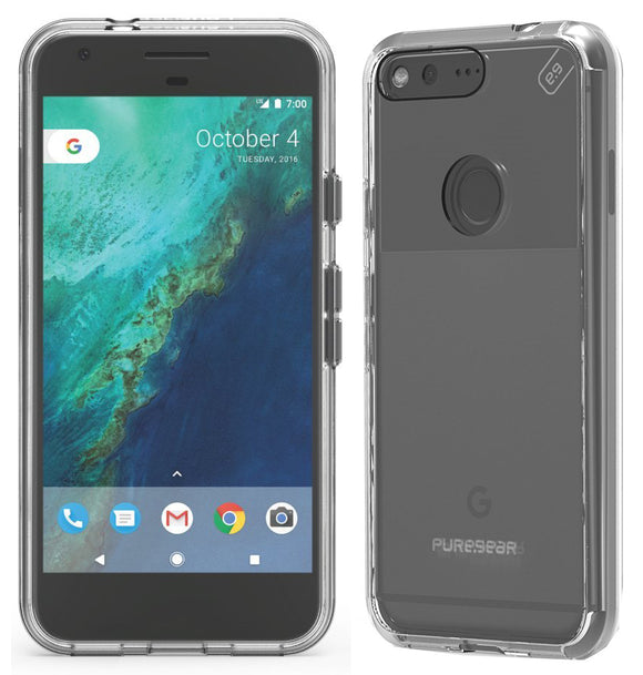 PUREGEAR CLEAR SLIM SHELL PRO CASE HARD TRANSPARENT COVER FOR GOOGLE PIXEL