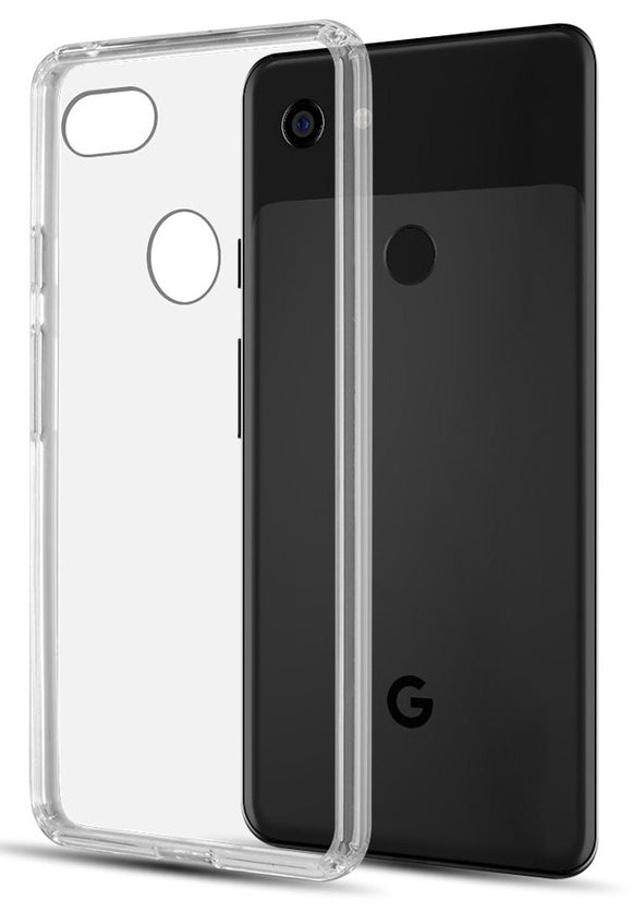 Clear Transparent Hard Case Air Hybrid Cover for Google Pixel 3 XL (2018)
