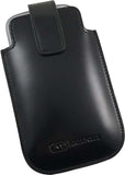 MUGEN BLACK LEATHER SLEEVE CASE POUCH FOR SAMSUNG GALAXY S3 III EXTENDED BATTERY