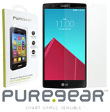 3x PureGear Tempered Glass 9H Screen Protector Crack Saver for LG G4