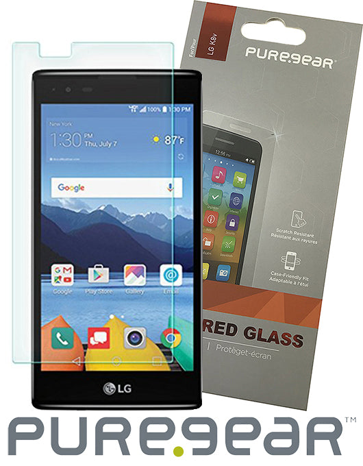 PUREGEAR HARD 9H TEMPERED GLASS SCREEN PROTECTOR GUARD FOR VERIZON LG K8V VS500