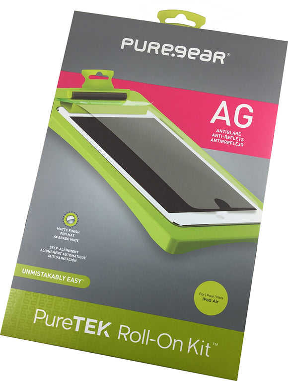 PUREGEAR PURETEK ROLL-ON SCREEN PROTECTOR (ANTI-GLARE) FOR APPLE iPAD AIR, AIR-2